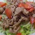 春雨と豚肉のサラダ('09.08あっとレシピ)