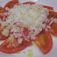 ひんやり トマトのサラダ