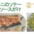 ズッキーニで2種 ('09.07)