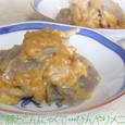 ゆで豚とこんにゃくのねぎ味噌和え 2010.06