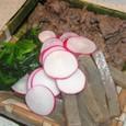牛肉とこんにゃくの和え物