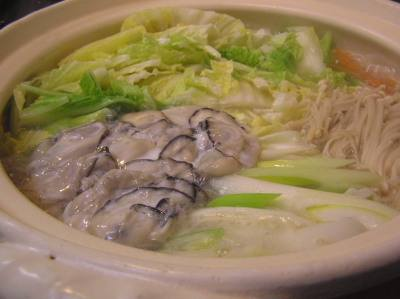 20091204_006 生姜鍋(牡蠣と豚肉で): あっと レシピ あっと レシピ 携帯URL